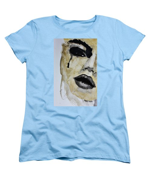 Women's T-Shirt (Standard Cut) featuring the painting Tougher Than You Think 3 by Michael Cross