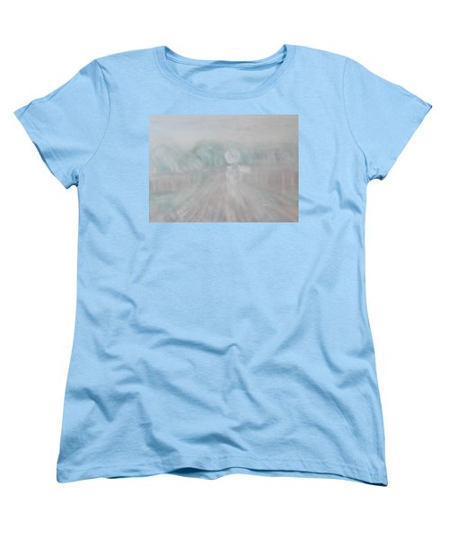 Towards The New Year Women's T-Shirt (Standard Cut) by Min Zou