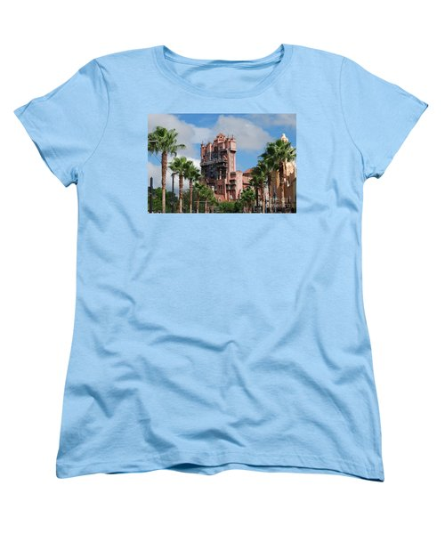 Tower Of Terror  Women's T-Shirt (Standard Cut) by Eric Liller