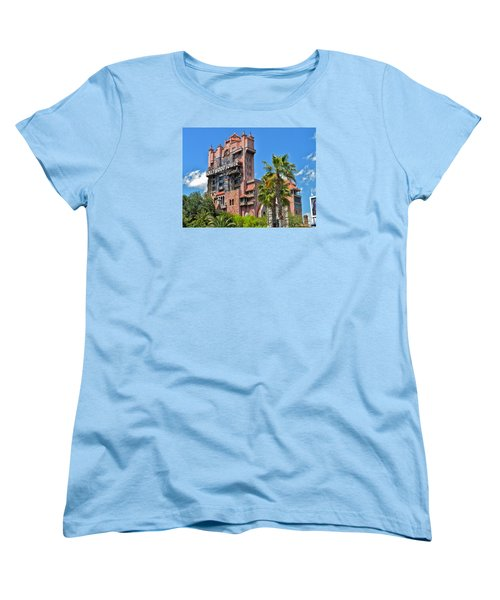 Tower Of Terror Women's T-Shirt (Standard Cut) by Thomas Woolworth