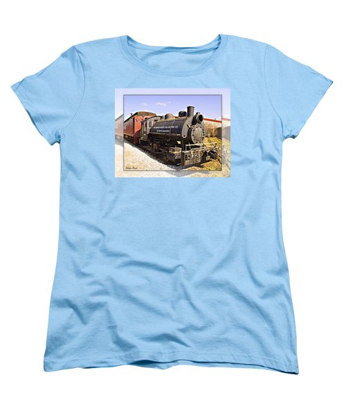 Train Women's T-Shirt (Standard Cut) by Walter Herrit