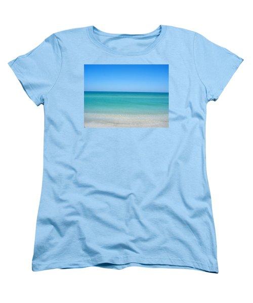 Women's T-Shirt (Standard Cut) featuring the photograph Tranquil Gulf Pond by David Nicholls