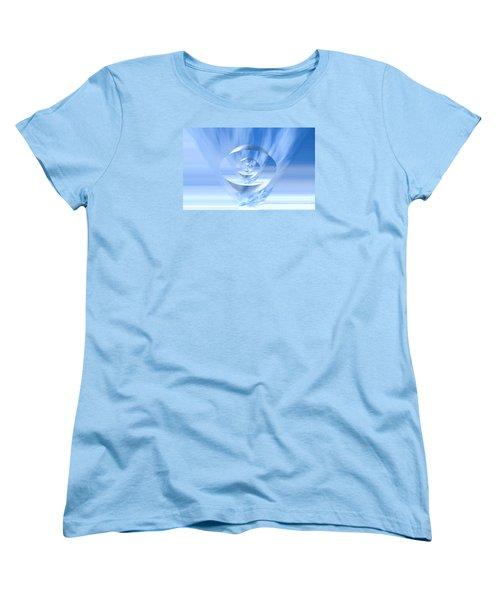 Transparency. Unique Art Collection Women's T-Shirt (Standard Cut) by Oksana Semenchenko