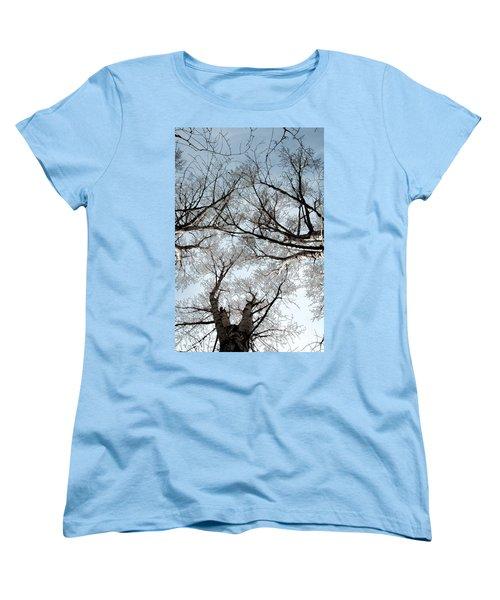 Women's T-Shirt (Standard Cut) featuring the photograph Tree 2 by Minnie Lippiatt