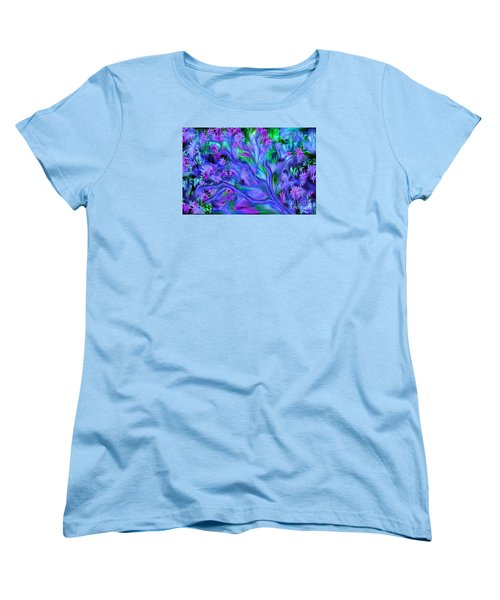 Tree Of Peace And Serenity Women's T-Shirt (Standard Cut) by Sherri's Of Palm Springs