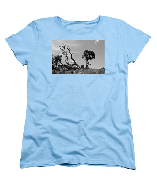 Women's T-Shirt (Standard Cut) featuring the photograph Trees In Cloud Forest by Lana Enderle
