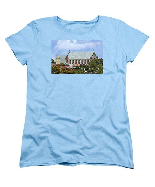 Trinity Church Women's T-Shirt (Standard Cut) by Kristin Elmquist