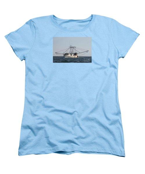 Women's T-Shirt (Standard Cut) featuring the photograph Troller To Port by John Telfer
