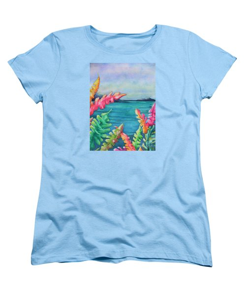 Tropical Scene Women's T-Shirt (Standard Cut)