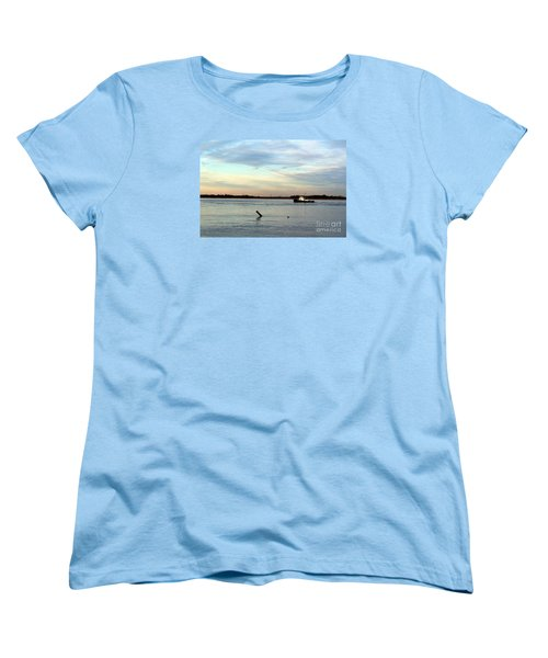 Tug Boat Women's T-Shirt (Standard Cut) by David Jackson