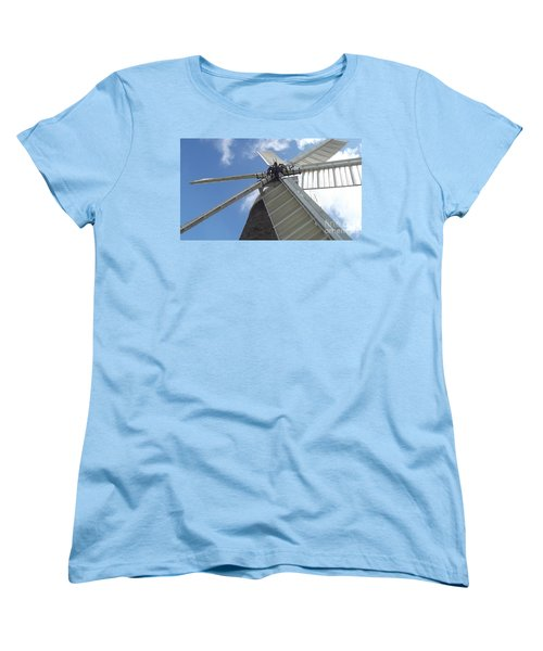 Turning In The Wind Women's T-Shirt (Standard Cut) by Tracey Williams