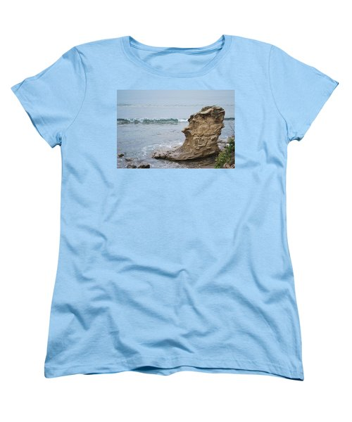 Turquoise Sea Women's T-Shirt (Standard Cut) by George Katechis
