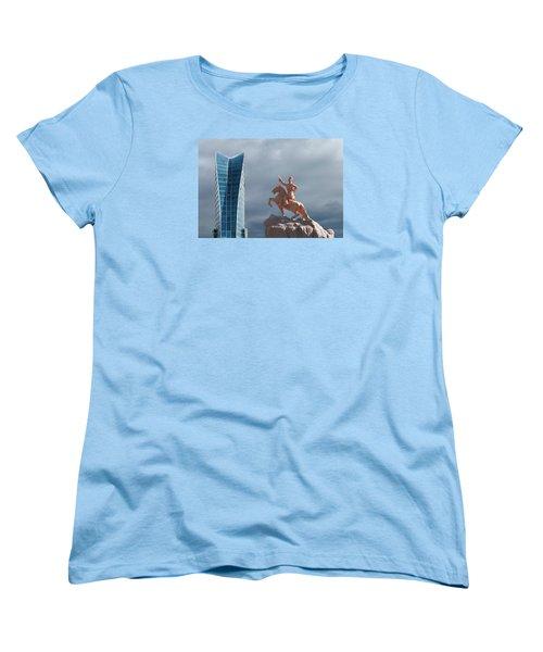 Ulaanbaatar Women's T-Shirt (Standard Cut) by Alan Toepfer