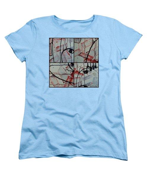 Women's T-Shirt (Standard Cut) featuring the photograph Unfaithful Desire Part One by Sir Josef - Social Critic - ART