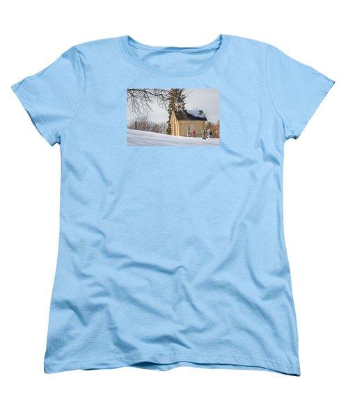 Union Cemetery Chapel Women's T-Shirt (Standard Cut) by Susan  McMenamin
