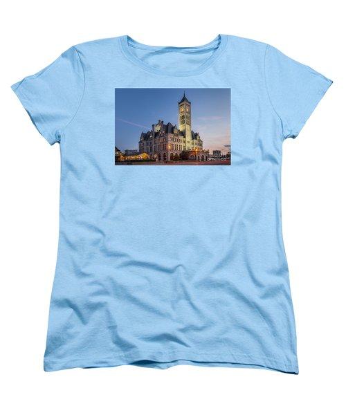 Union Station  Women's T-Shirt (Standard Cut) by Brian Jannsen