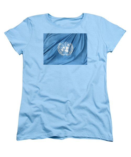 United Nations Women's T-Shirt (Standard Cut) by Les Cunliffe