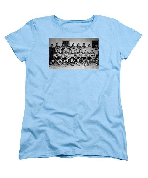 University Of Michigan Hockey Team 1947 Women's T-Shirt (Standard Cut) by Mountain Dreams