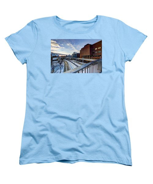 University Of Minnesota Women's T-Shirt (Standard Cut) by Amanda Stadther