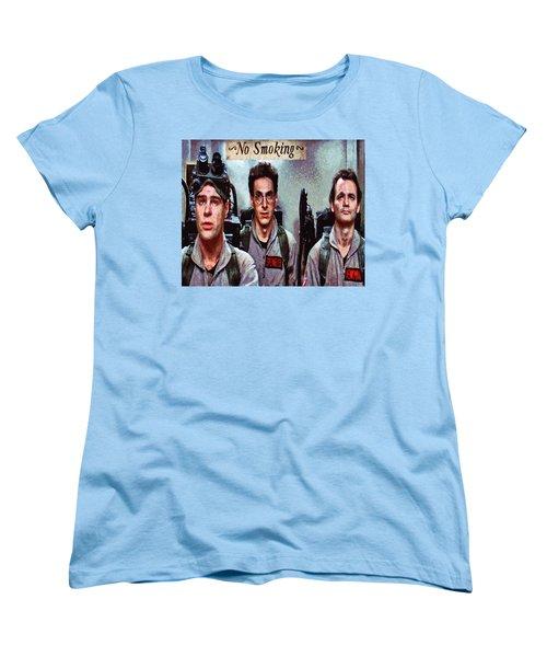 Unlicensed Nuclear Accelerator  Women's T-Shirt (Standard Cut) by Joe Misrasi