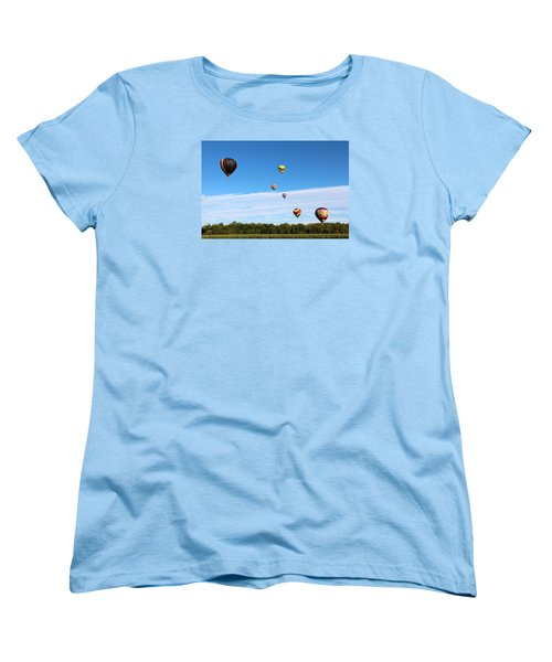 Up Up And Away Women's T-Shirt (Standard Cut) by George Jones