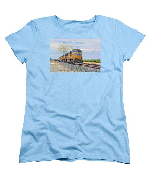 Up4421 Women's T-Shirt (Standard Cut) by Jim Thompson