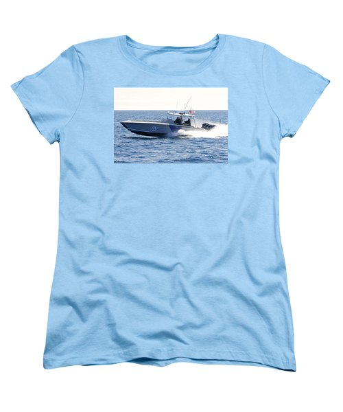 Us Customs At Work Women's T-Shirt (Standard Cut) by Shoal Hollingsworth