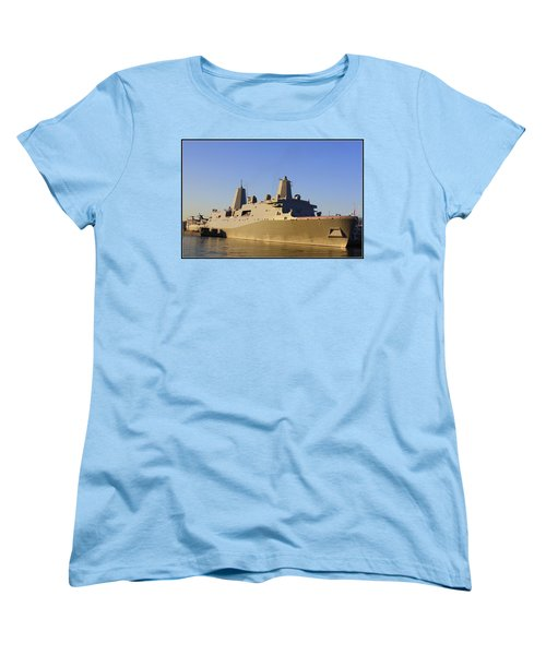 Uss New York - Lpd21 Women's T-Shirt (Standard Cut)