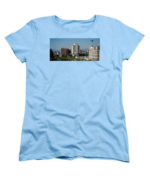 Utah State Capitol Building, Salt Lake Women's T-Shirt (Standard Cut) by Panoramic Images