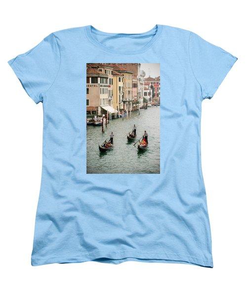 Women's T-Shirt (Standard Cut) featuring the photograph Venice by Silvia Bruno