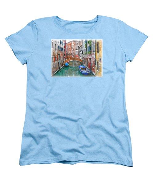 Women's T-Shirt (Standard Cut) featuring the photograph Venetian Idyll by Hanny Heim