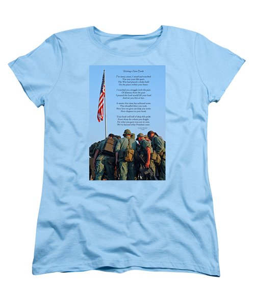 Veterans Remember Women's T-Shirt (Standard Cut)