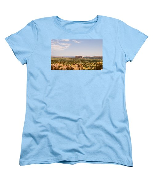 View From Acoma Mesa Women's T-Shirt (Standard Cut) by James Gay
