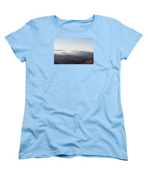 View From Blood Mountain Women's T-Shirt (Standard Cut)