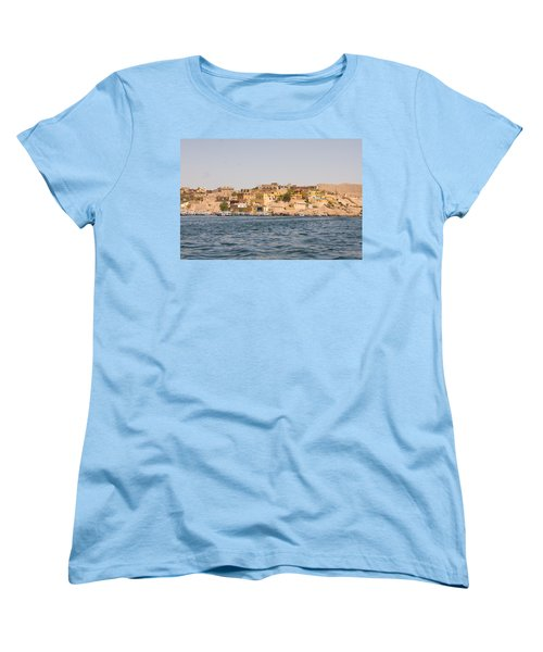 View From Boat Women's T-Shirt (Standard Cut) by James Gay