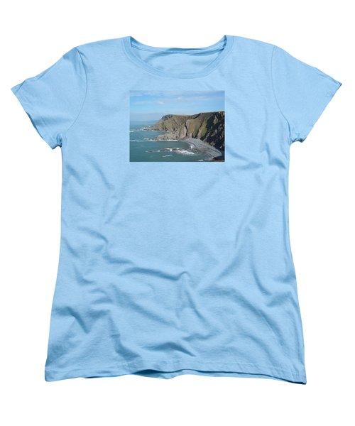Higher Sharpnose Point Women's T-Shirt (Standard Cut) by Richard Brookes