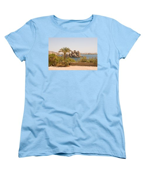 View Of Lake Women's T-Shirt (Standard Cut) by James Gay