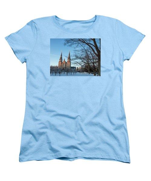 Villanova Winter Saint Thomas Women's T-Shirt (Standard Cut)