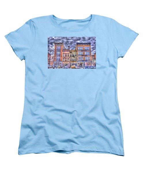Vine Street Women's T-Shirt (Standard Cut) by Daniel Sheldon