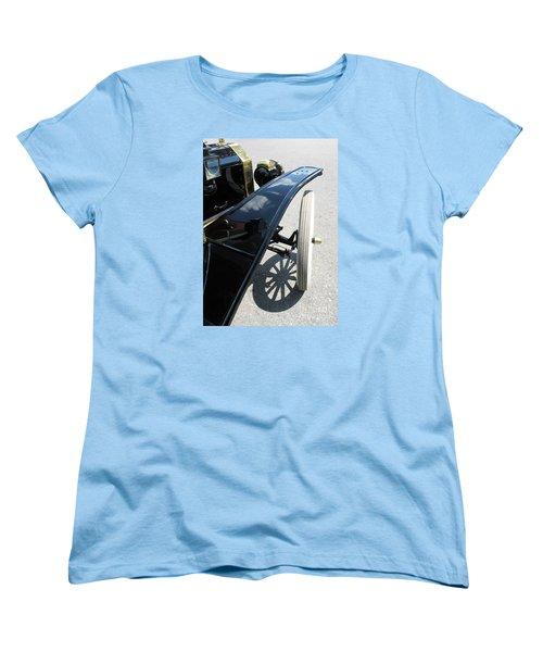 Women's T-Shirt (Standard Cut) featuring the photograph Vintage Model T by Ann Horn