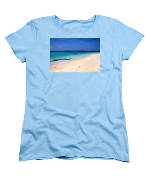 Women's T-Shirt (Standard Cut) featuring the photograph Virgin Island Cebu by Joey Agbayani