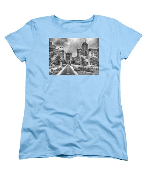 Women's T-Shirt (Standard Cut) featuring the photograph Virginia Ave. by Howard Salmon