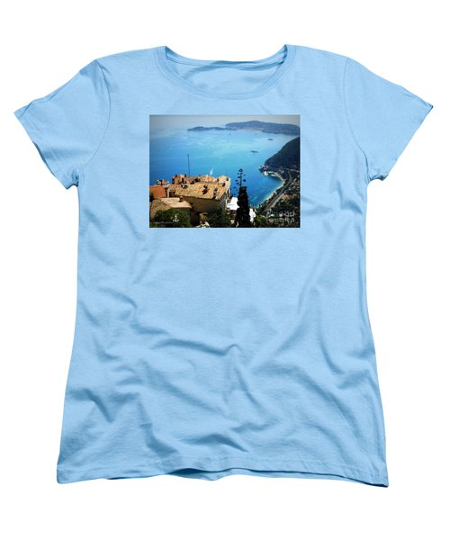 Vista From Eze Women's T-Shirt (Standard Cut) by Lainie Wrightson