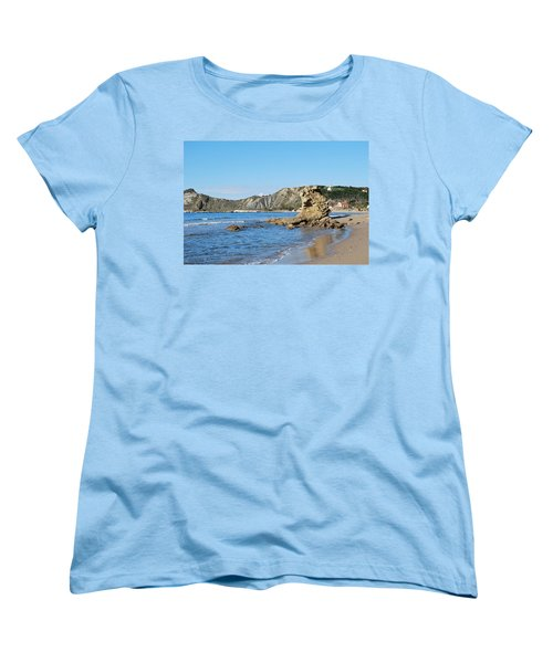 Women's T-Shirt (Standard Cut) featuring the photograph Vouno 2 by George Katechis