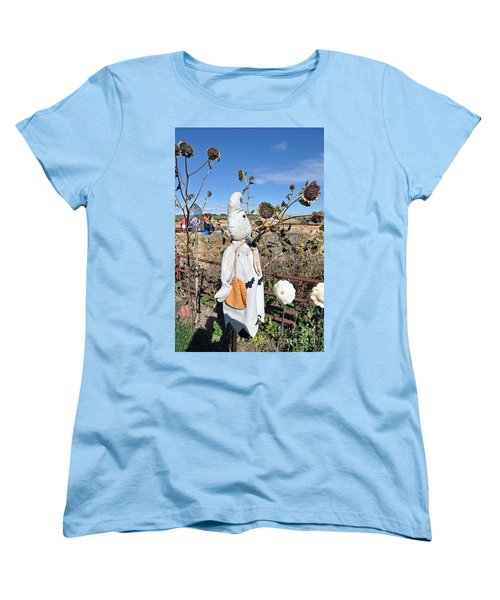 Women's T-Shirt (Standard Cut) featuring the photograph Waiting For Darkness by Minnie Lippiatt