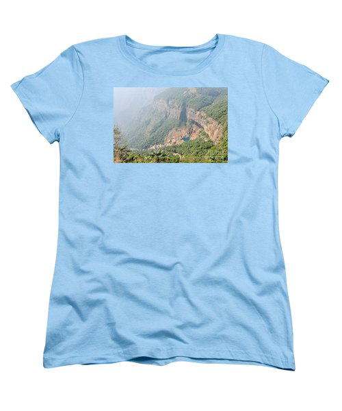 Waiting For The Monsoons Women's T-Shirt (Standard Cut) by Fotosas Photography