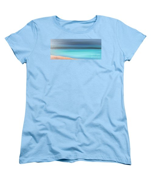 Women's T-Shirt (Standard Cut) featuring the painting Waiting by Jacqueline Athmann