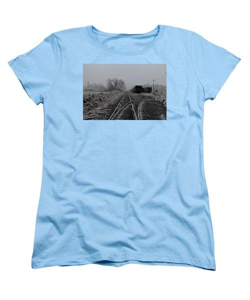 Waiting On The Side Women's T-Shirt (Standard Cut)