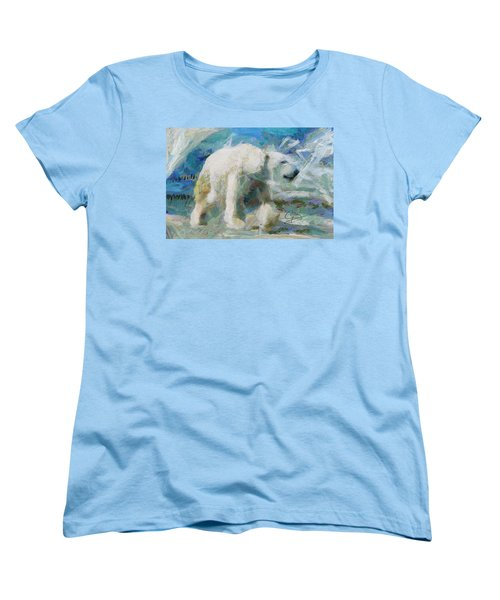 Cold As Ice Women's T-Shirt (Standard Cut) by Greg Collins