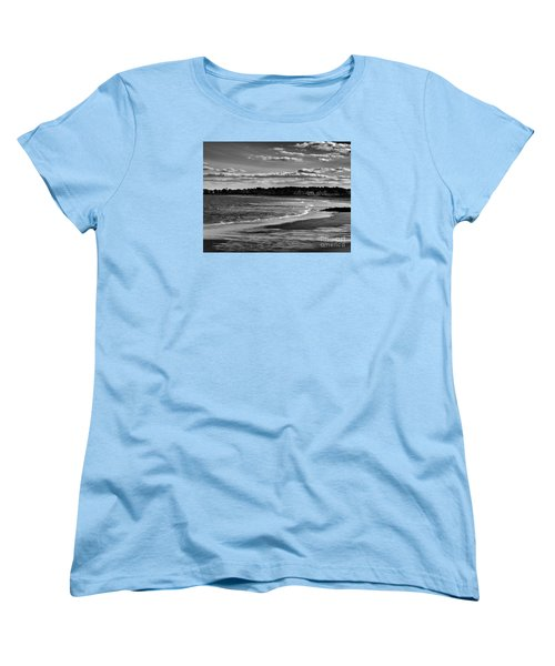 Wallis Beach Women's T-Shirt (Standard Cut) by Marcia Lee Jones